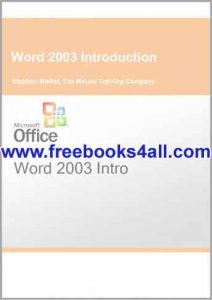 word-2003-introduction